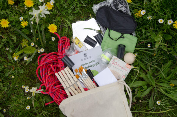 Materialien aus dem Waldpädagogik Starterset